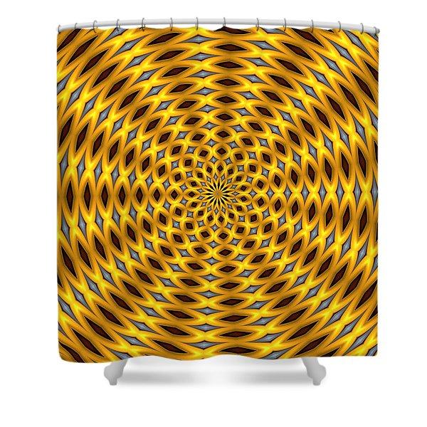 Ten Minute Art 2 Shower Curtain by David Lane