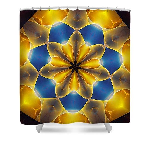 Ten Minute Art 7 Shower Curtain by David Lane