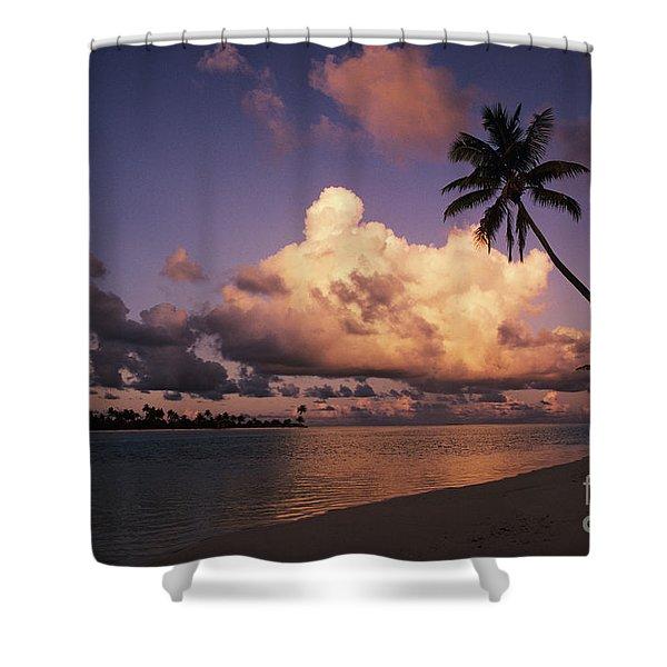 Tetiaroa Shower Curtain by Larry Dale Gordon - Printscapes
