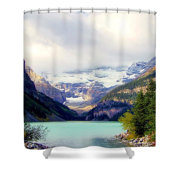 The Beauty Within Shower Curtain by KAREN WILES