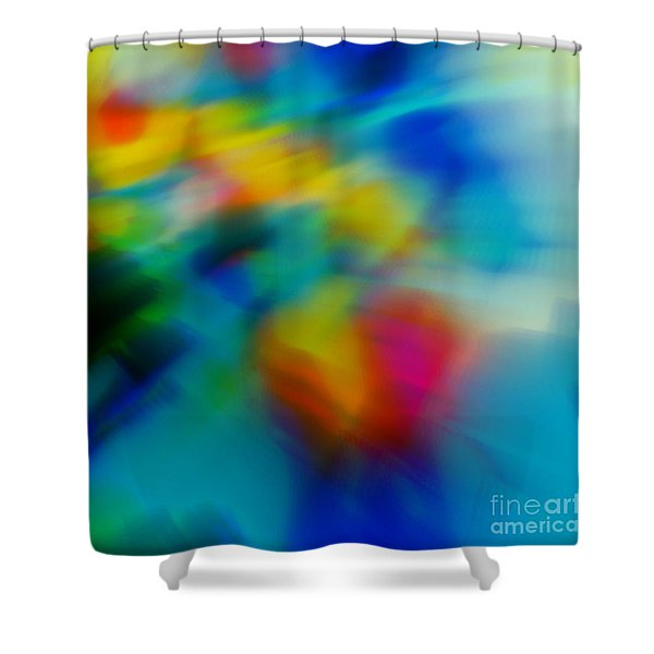 The Blossom Within Shower Curtain by WBK