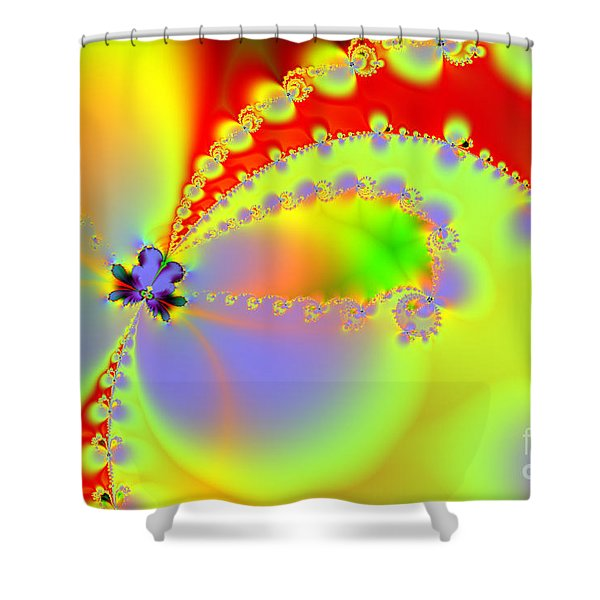 The Butterfly Effect . Summer Shower Curtain by Wingsdomain Art and Photography