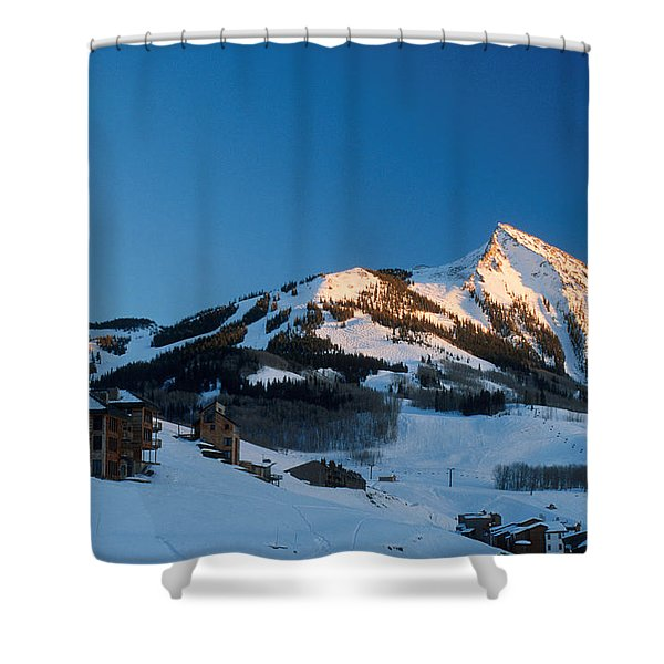 The Crested Butte Shower Curtain by Jerry McElroy