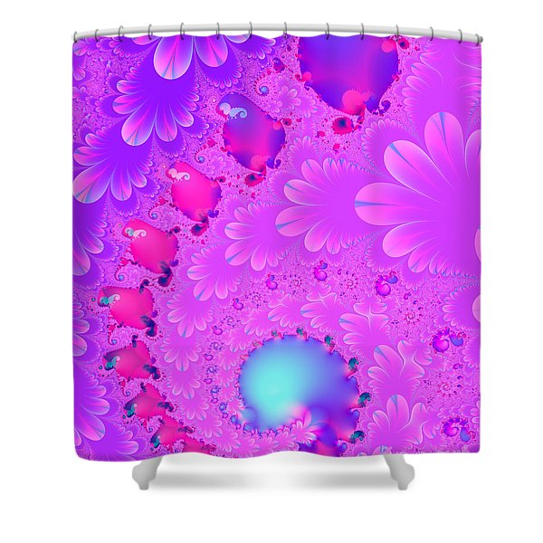 The Enchanted Forest . Version 2 . S8 Shower Curtain by Wingsdomain Art and Photography