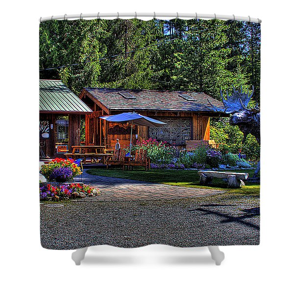 The Entree Gallery II Shower Curtain by David Patterson
