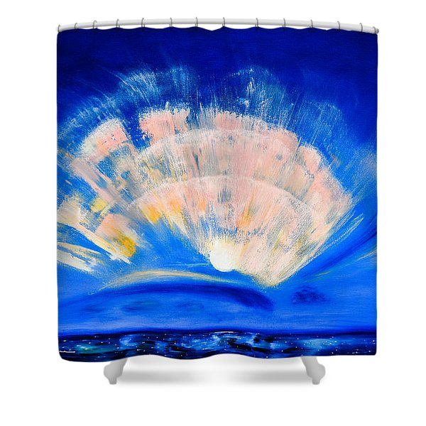 Shower Curtains - The Fan of a Fairy Shower Curtain by Gina De Gorna