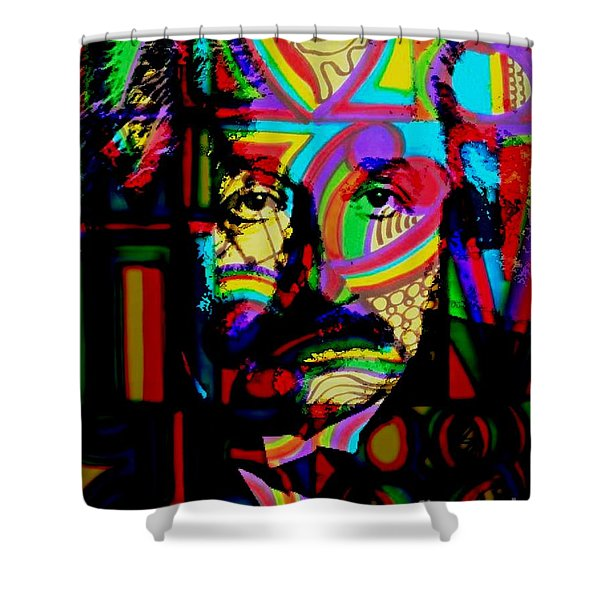 The Genius Shower Curtain by WBK