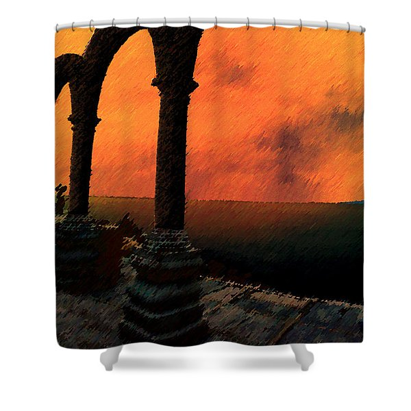 The Gloaming Shower Curtain by Paul Wear