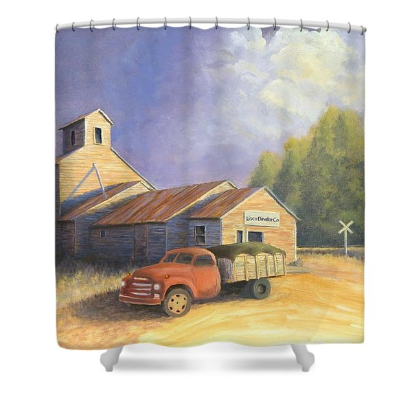 The Lisco Elevator Shower Curtain by Jerry McElroy