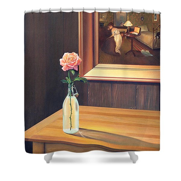 The Rape Shower Curtain by Patrick Anthony Pierson