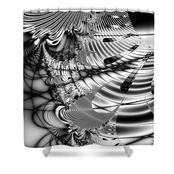The Web We Weave Shower Curtain by Wingsdomain Art and Photography