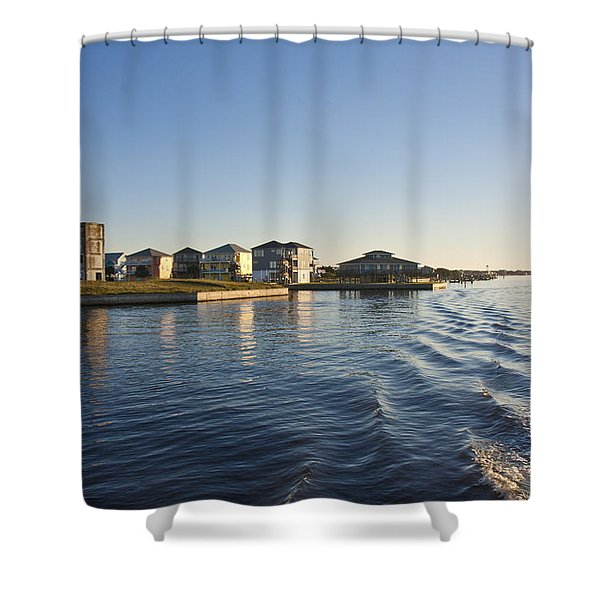 TI Observation Tower 2 Shower Curtain by Betsy C  Knapp