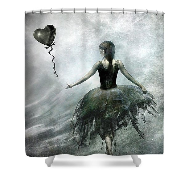 Time To Let Go Shower Curtain by Photodream Art