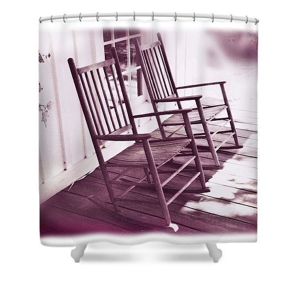 Together Forever Shower Curtain by Mal Bray