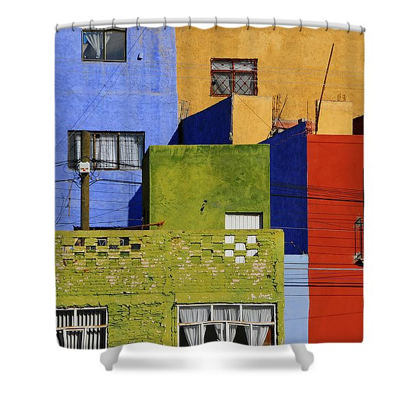 Toy Box Shower Curtain by Skip Hunt