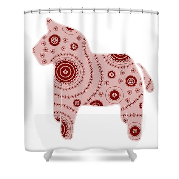 Shower Curtains - Toy Horse Shower Curtain by Frank Tschakert