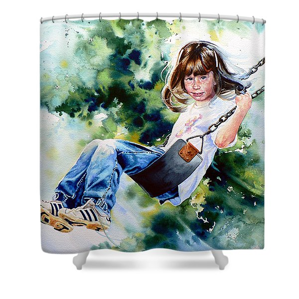 Tracy Shower Curtain by Hanne Lore Koehler