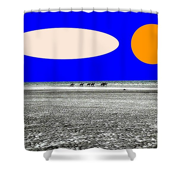 TREKKING Shower Curtain by Patrick J Murphy