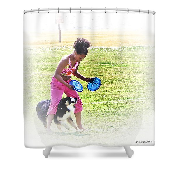 Tricks Shower Curtain by Brian Wallace