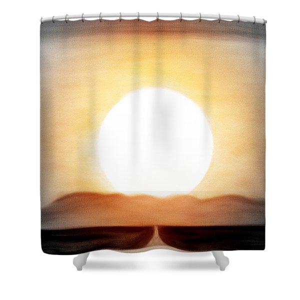 True God Shower Curtain by Gina De Gorna