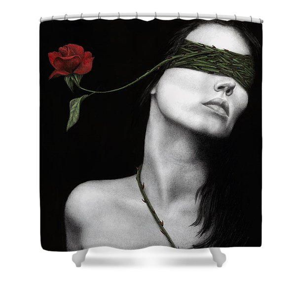 Truth Of Beauty Shower Curtain by Pat Erickson