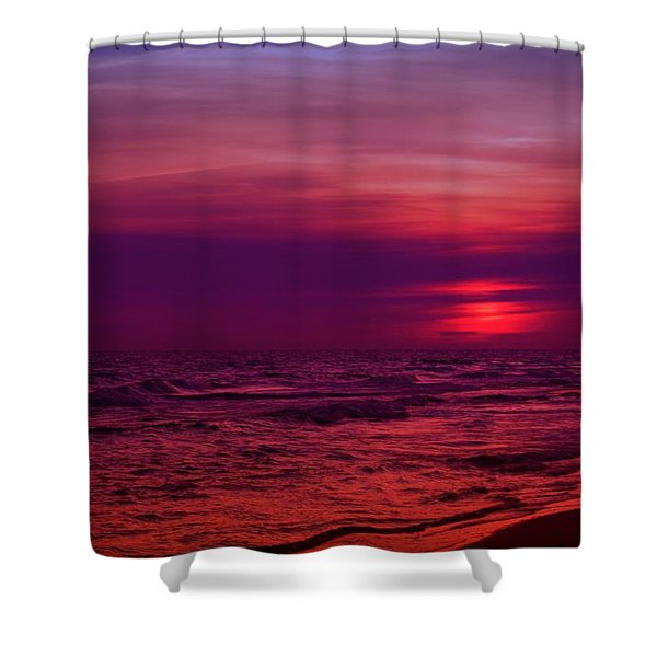 Twilight Shower Curtain by Sandy Keeton