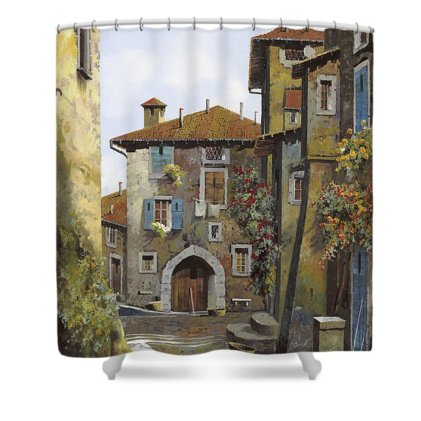 Umbria Shower Curtain by Guido Borelli