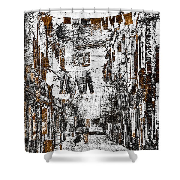- Verona Italy Shower Curtain by Frank Tschakert