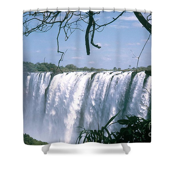 Victoria Falls Shower Curtain by Photo Researchers, Inc.