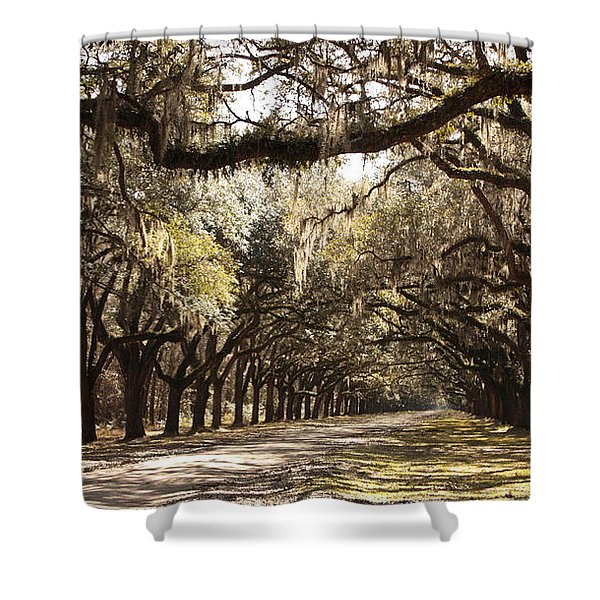 Warm Southern Hospitality Shower Curtain by Carol Groenen