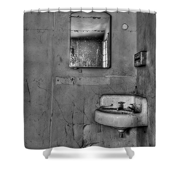 Wash Away Your Fears Shower Curtain by Evelina Kremsdorf