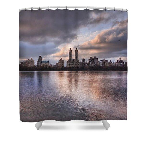 West Side Story Shower Curtain by Evelina Kremsdorf