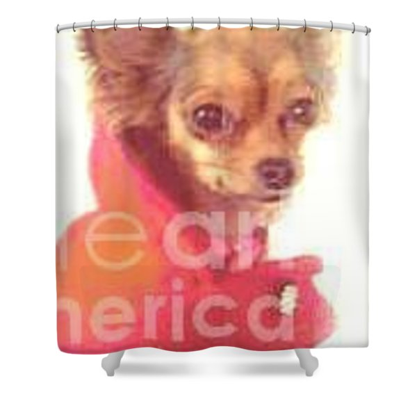 What Big Eyes You Have Shower Curtain by Carol Wisniewski