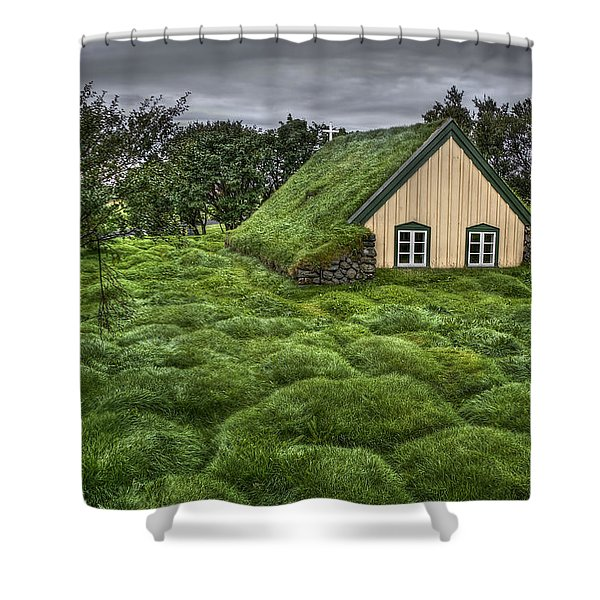 When Heaven Calls Your Name Shower Curtain by Evelina Kremsdorf