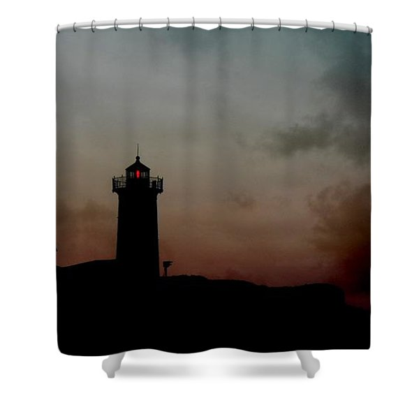 Wicked Dawn Shower Curtain by Lori Deiter