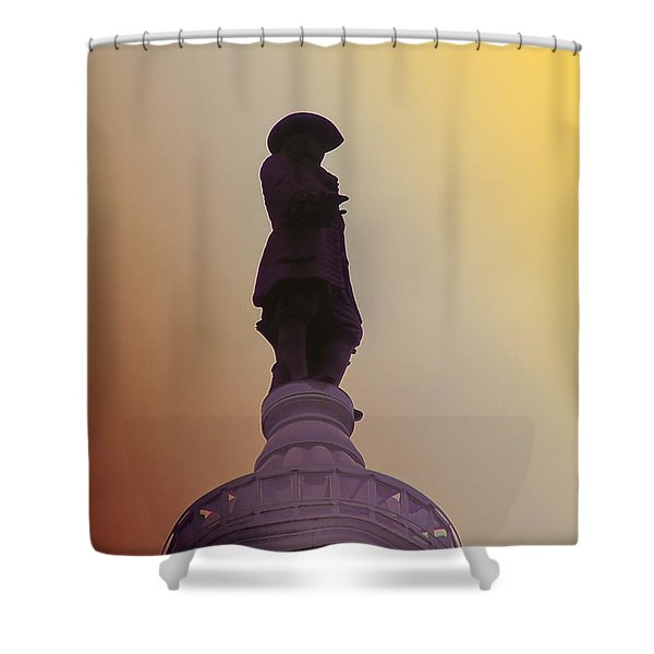 William Penn Shower Curtain by Bill Cannon