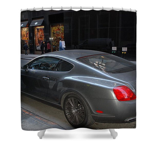 Yes    Write Him Up Cop Shower Curtain by Rob Hans