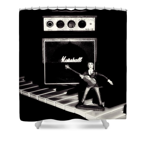 Yesterday - Beatle Paul Shower Curtain by Bill Cannon