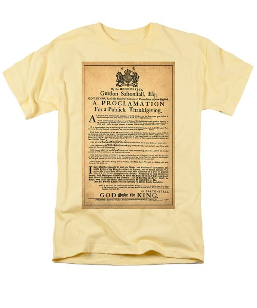 A Proclamation of Thanksgiving T-Shirt by Digital Reproductions