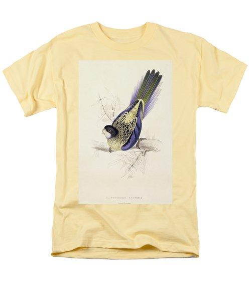 Browns Parakeet Men's T-Shirt  (Regular Fit) by Edward Lear