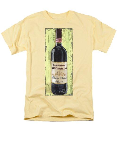 Chianti and Friends Panel 2 T-Shirt by Debbie DeWitt