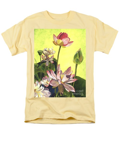 Citron Lotus 1 T-Shirt by Debbie DeWitt