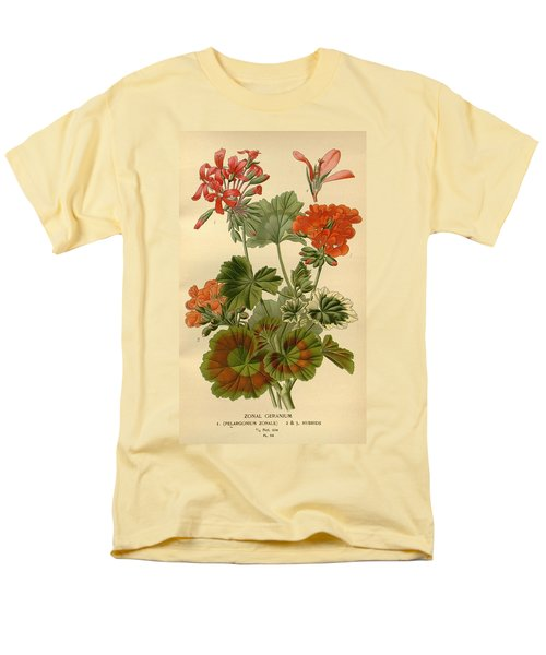 Geraniums T-Shirt by Philip Ralley