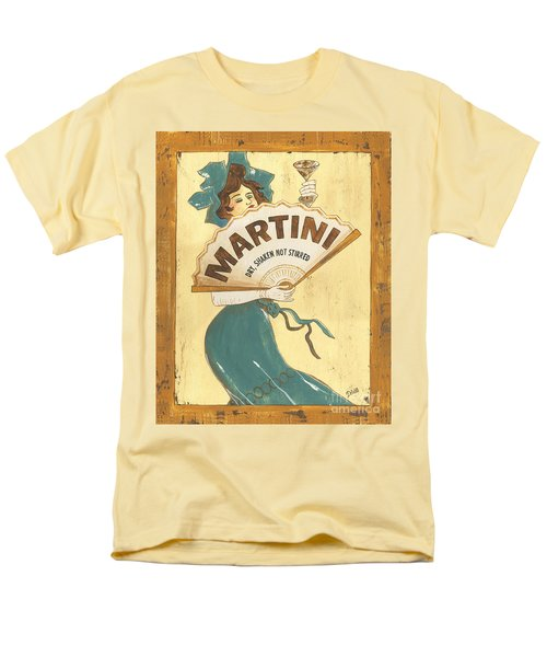 Martini Dry Men's T-Shirt  (Regular Fit) by Debbie DeWitt
