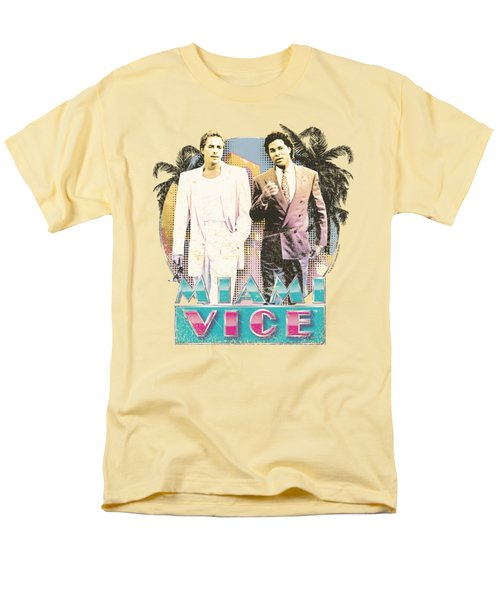 Miami Vice - 80's Love Men's T-Shirt  (Regular Fit) by Brand A