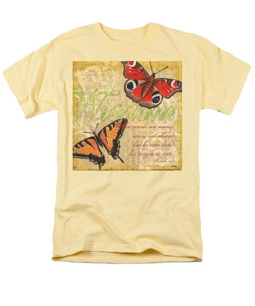 Musical Butterflies 4 T-Shirt by Debbie DeWitt
