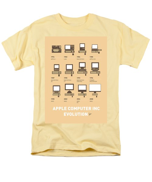 My Evolution Apple mac minimal poster T-Shirt by Chungkong Art