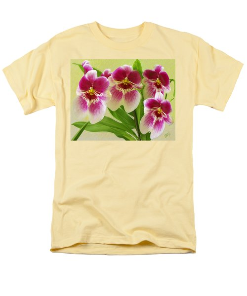 Pretty Faces - Orchid T-Shirt by Ben and Raisa Gertsberg