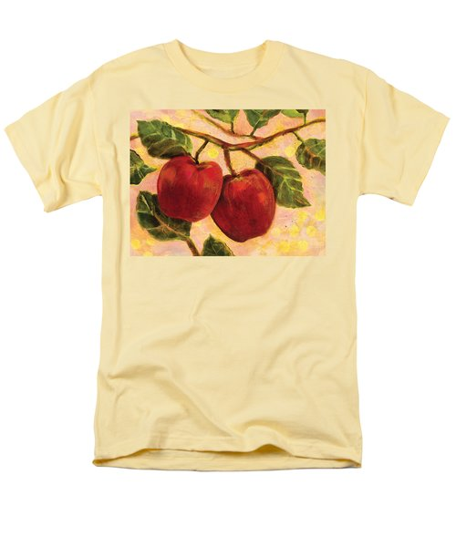 Red Apples on a Branch T-Shirt by Jen Norton
