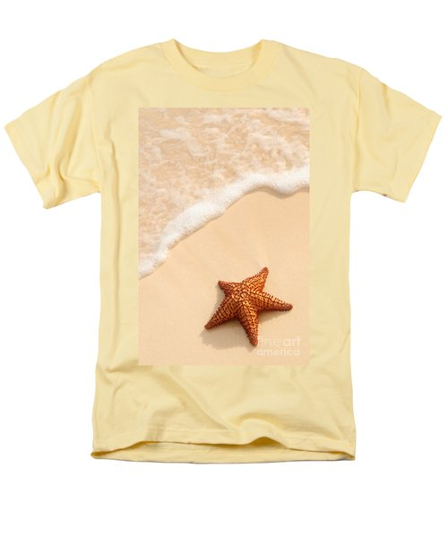 Starfish and ocean wave T-Shirt by Elena Elisseeva